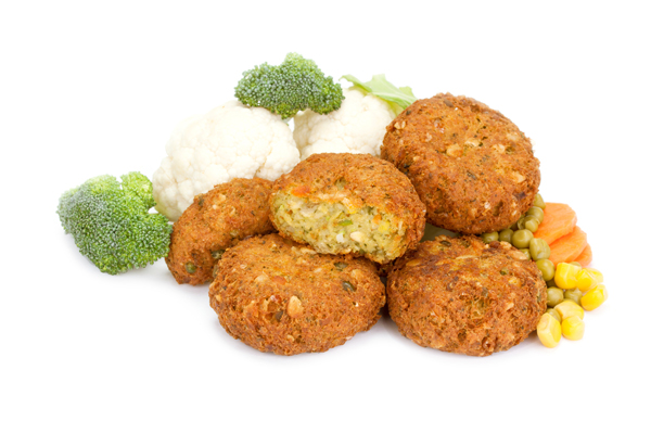 broccoli cauliflower burger